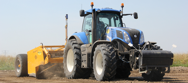 Dozeren met een New Holland T8.360 !