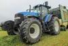 Gras rapen met een nieuwe Krone ZX470 GL